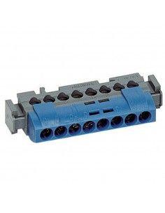 BTicino FMM8N - morsettiera neutro/blu 8 poli