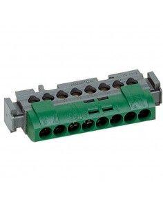 BTicino FMM8T - morsettiera verde/terra 8 poli