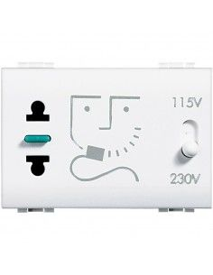 BTicino N4177 LivingLight - presa per rasoio