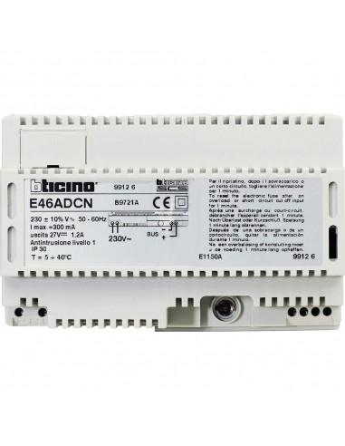 BTicino E46ADCN - alimentatore 230Vac 8M