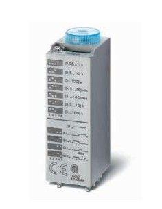 Finder 85.02.0.125.0000 - temporizzatore multifunzione ad innesto 110/125V AC/DC
