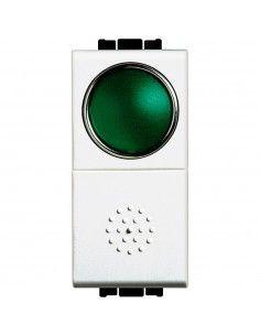 LivingLight Bianco - pulsante con portalampada
