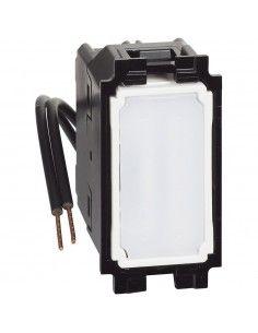 BTicino K4004L Living Now - invertitore illuminato bianco