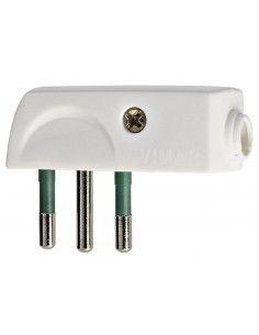 Vimar 00206.B - spina 10A piatta bianco