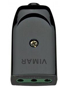 Vimar 00221 - presa 10A assiale nero