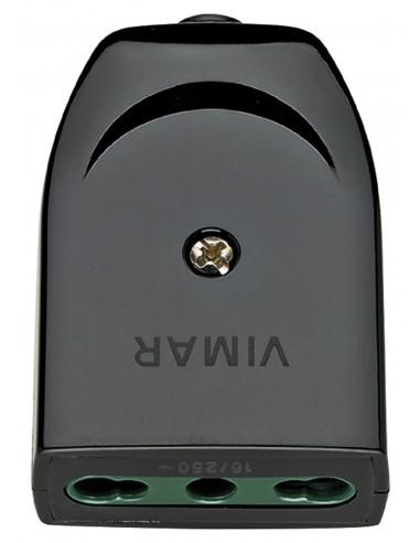 Vimar Spine e prese Spina 2P+T 10A SPA11 90� nero VIMAR 00206