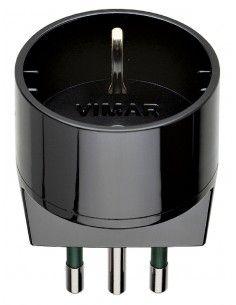 Vimar 00302 - adattatore S11 + P30 nero