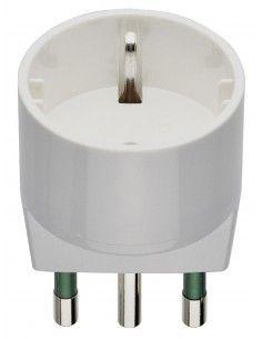 Vimar 00303.B - adattatore S17 + P30 bianco