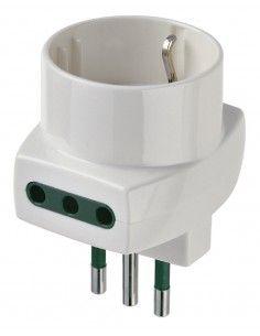 Vimar 00322.B - adattatore multiplo S11 + 2P11 + P30 bianco