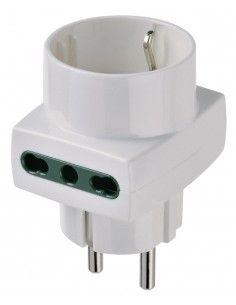 Vimar 00325.B - adattatore multiplo S31 + 2P17/11 + P30 bianco