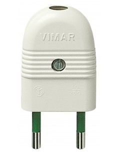 Vimar 01020.B - spina 10A assiale bianco