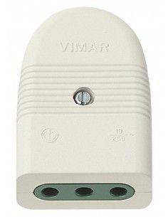 Vimar 01023.B - presa 10A assiale bianco