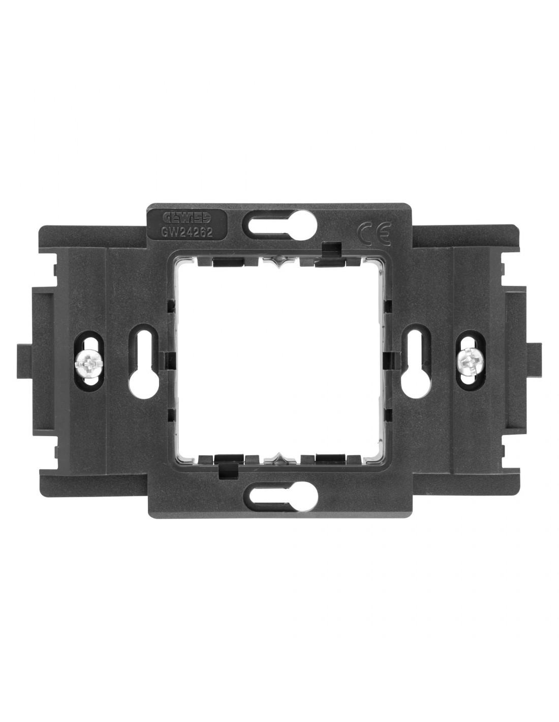 Gewiss GW24201 System | VENDITA supporto 3 moduli con viti