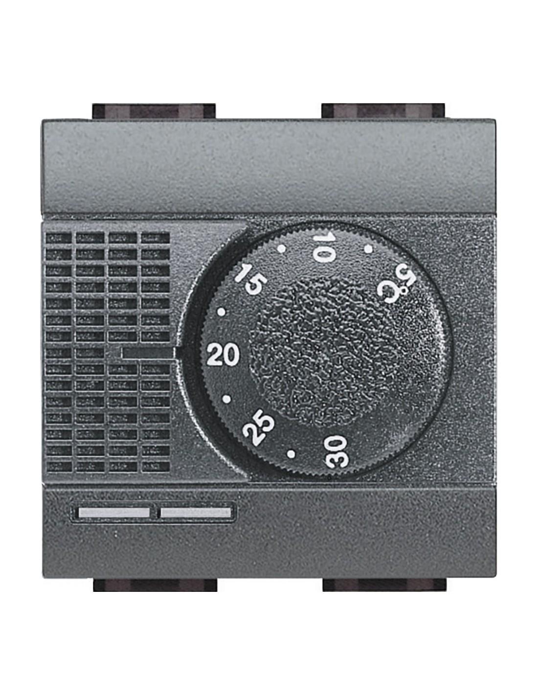 bticino l4441 livinglight termostato ambiente