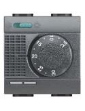 LivingLight Antracite - termostato ambiante estate/inverno