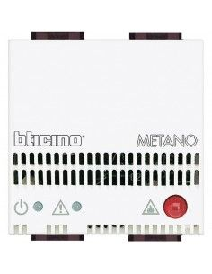 LivingLight Bianco - rivelatore gas METANO