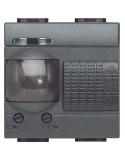 LivingLight Antracite - interruttore ad infrarossi passivi