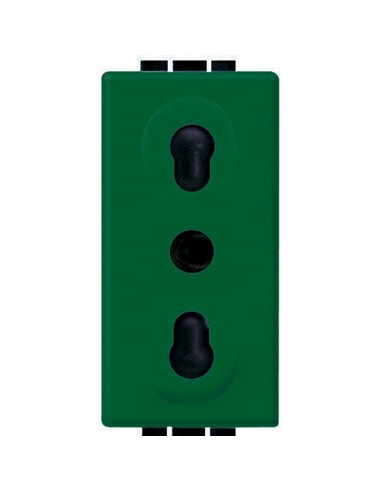 LivingLight - presa bipasso verde
