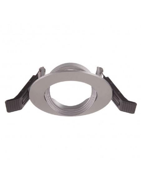 Duralamp ZKRTG - anello incasso orientabile tondo grigio