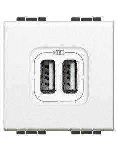 LivingLight Bianco - caricatore USB doppio
