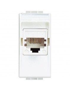 LivingLight Bianco - connettore per trasmissione dati RJ45 cat. 5