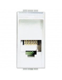 LivingLight Bianco - connettore telefonico