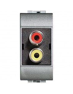 LivingLight Tech - connettore doppio RCA