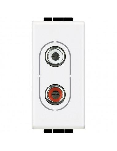 LivingLight Bianco - connettore RCA x2
