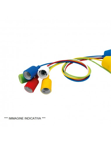 Lampo PTL100RO - pendel E27 rosso