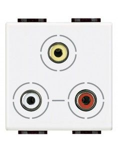 LivingLight Bianco - connettore RCA x3