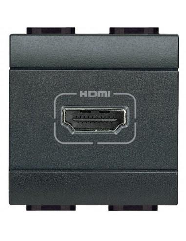 LivingLight Antracite - connettore HDMI