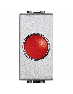 LivingLight Tech - portalampada con diffusore rosso