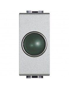 LivingLight Tech - portalampada con diffusore verde