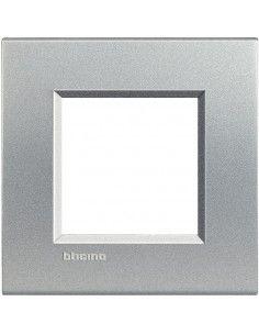 BTicino LNA4802TE LivingLight - placca 2 moduli tech